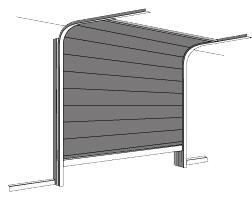 Puerta seccional en sevilla instalar reparar - Puertas de garaje seccionales baratas ...
